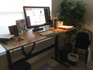 My new standing desk